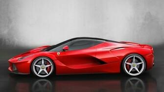 Ferrari Red Supercar Full HD Desktop Wallpapers 1080p