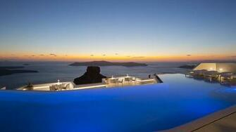Pool Grace Hotel Santorini 429036   HD Wallpaper Download