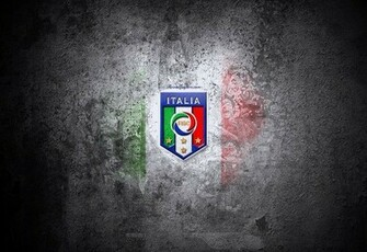 Italy National Football Team Logo HD Wallpaper
