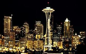 Seattle City Lights Hd Wallpapers 1680x1050 pixel City HD Wallpaper
