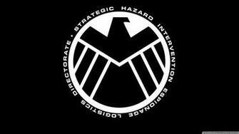 marvel   the avengers shield logo wallpaper 1600x900
