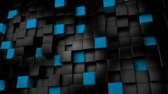 3d black cubes backgrounds wallpapers1 wallpapers55com   Best
