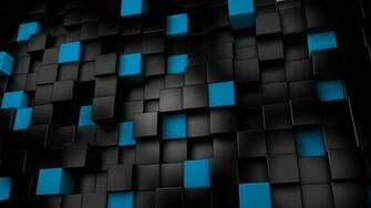 3d black cubes backgrounds wallpapers1 wallpapers55com   Best