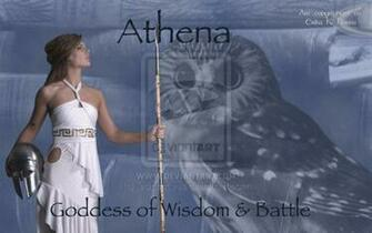 Greek Goddess Wallpaper The Goddess Athena Wallpaper