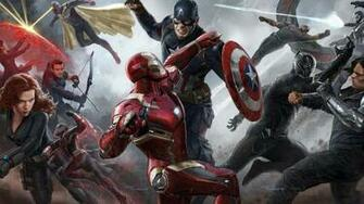 Captain America Civil War Concept Art Wallpaper DESKTOP BACKGROUNDS