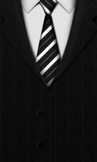 Black suit Mobile Wallpaper 4290