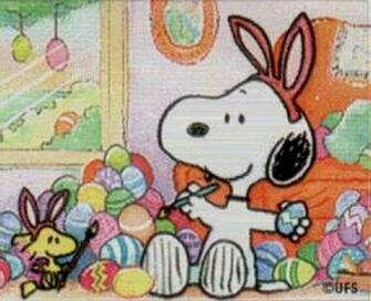 Easter Snoopy Image