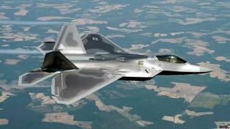 Wallpaper Lockheed MartinBoeing F 22 Raptor 1920 x 1080 HDTV 1080p