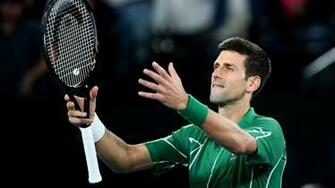 Australian Open 2020 Djokovic insists he is not dominating