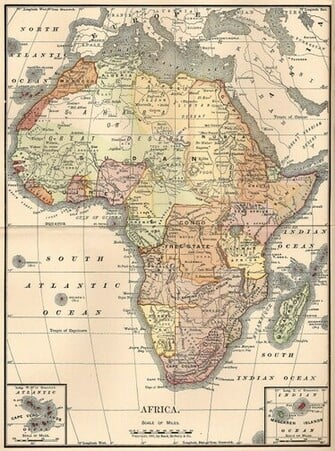 Africa Map Wallpaper Maps make such wonderful