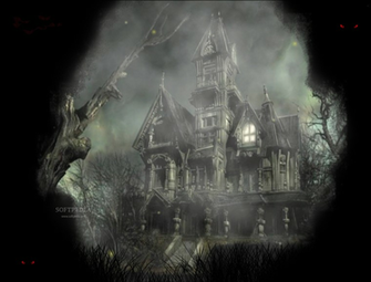 Halloween Mansion Animated Wallpaper   Halloween Mansion Animated