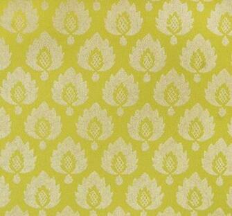 Yellow wallpaper pineapple Moroccan trellis hollywood regency