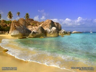 Caribbean Island Desktop Backgrounds