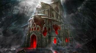 Halloween Horror House HD Wallpaper Stylish Wallpapers