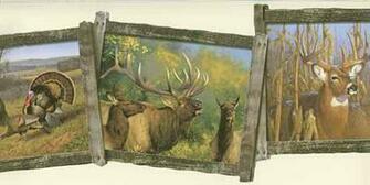 Deer Wallpaper Mural   Wallpaper Border Wallpaper inccom