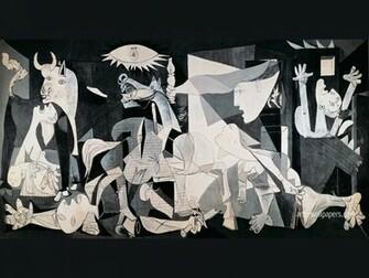 Guernica Art Guernica Wallpaper Guernica Art Print Poster Painting