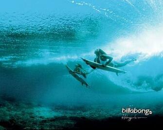 Girl Lets Surf