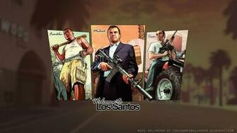 GTA V Artwork Wallpaper 1   Cool Games Wallpaper