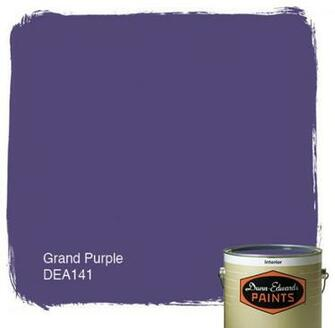 Dunn Edwards Paints Grand Purple DEA141 paint