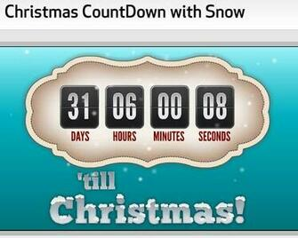 More 10 Awesome Countdown Timers to Christmas 2010 9 Nice Blog