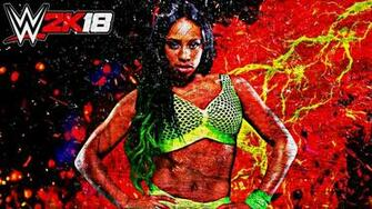 Naomi WWE 2K18 Custom Wallpaper by AmbriegnsAsylum16
