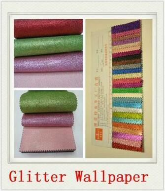 Glitter Wallpaper Manufacturer Made In China