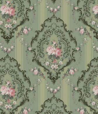 Rococo Rose   Historic Wallpapers   Victorian Arts   Victorial Crafts