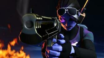 Dark Bomber Pistol Fortnite Battle Royale 4K 27350 Battle