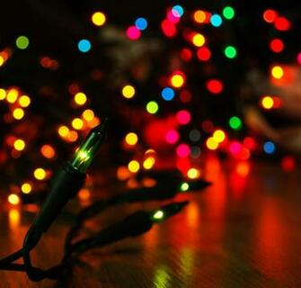 Lights Wallpapers Colorful Christmas Lights Myspace Backgrounds