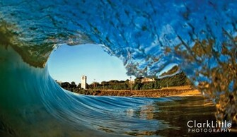 this wave The surfboard morphed into a camera Photo Clark Little
