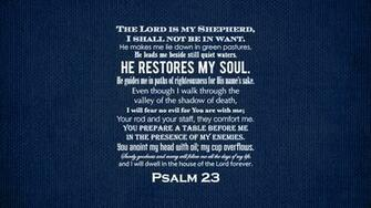 Get the Psalm 23 desktop wallpaper by clicking here