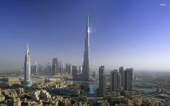 Wallpapers Backgrounds   Dubaj Burj Khalifa wallpaper 292119