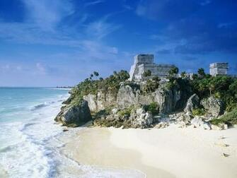 Mayan Ruins Tulum Mexico Wallpapers HD Wallpapers