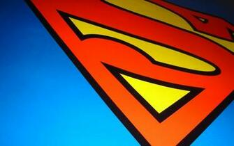 achtergrond superman wallpaper met logo superman wallpaper superman