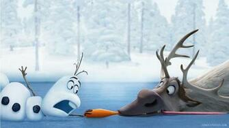 Olaf Sven Frozen HD Wallpaper   iHD Wallpapers
