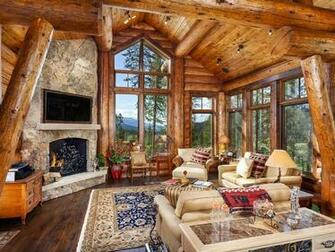 Exquisite Log Cabin Mountain Home Sleeps 12 in Full Beds