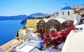 Santorini Greece Wallpaper   Beach Wallpapers   22173 Greece