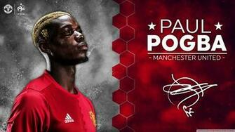 Paul Pogba Manchester United 2016 17 4K HD Desktop Wallpaper