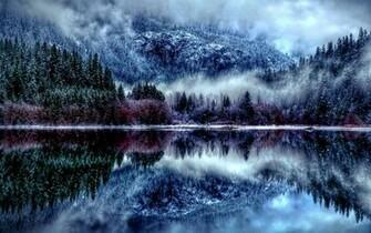 Winter Forest HD Wallpaper   Winter Season Desktop HD Wallpapers