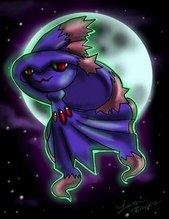 Mismagius ghost pokemon entry by animesock52