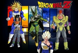 DBZ Wallpaper Cell Saga by rkq