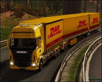 Dhl Wallpaper   Euro Truck Simulator 2 510394   HD Wallpaper