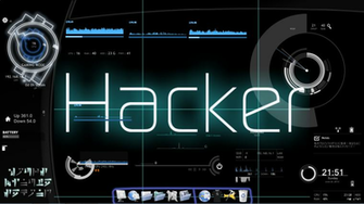 Moving Hacking Wallpaper