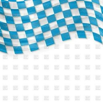 Oktoberfest background with wavy bavarian flag Vector Image of