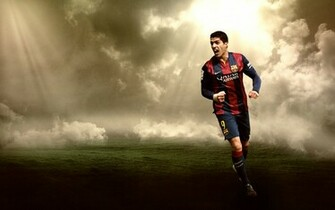 Luis Suarez Wallpaper by RakaGFX