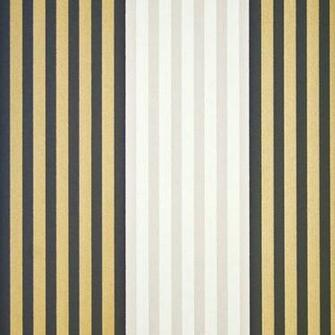 Gold And Black Striped Wallpaper Cheltenham stripe wallpaper