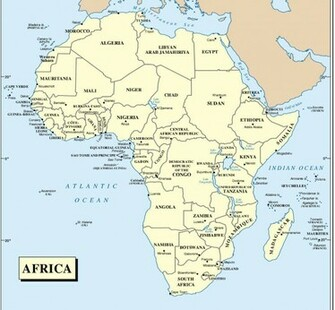 Africa Map Countries