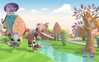 Download Littlest Pet Shop Friends City Wallpaper Online