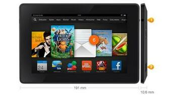 Kindle Fire HD 7 2013 Kleiner Tablet PC von Amazon