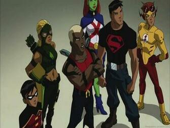 Young Justice Cartoon Wallpapers